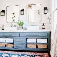 6 Master Bathroom Organization Ideas for the Vanity + Cabinets + More