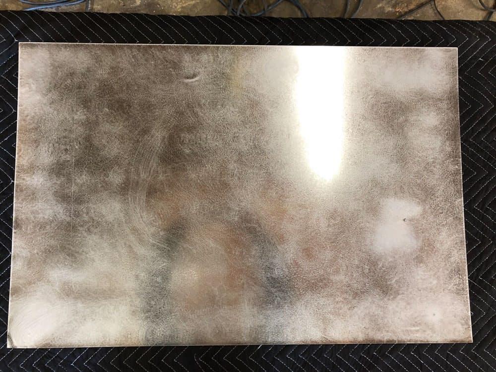 diy magnetic chalkboard memo board