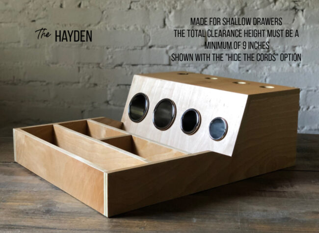 hayden hair tool organizer with hide the cords (2)