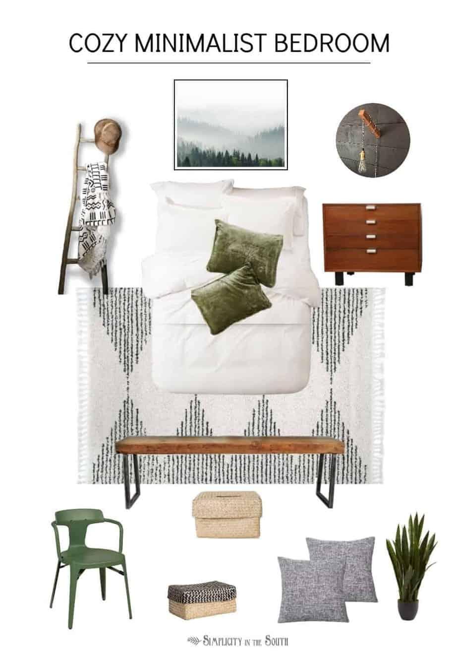 Guest Bedroom Makeover Design Plans Mood Board,One Bedroom Apartment Plans In Kenya