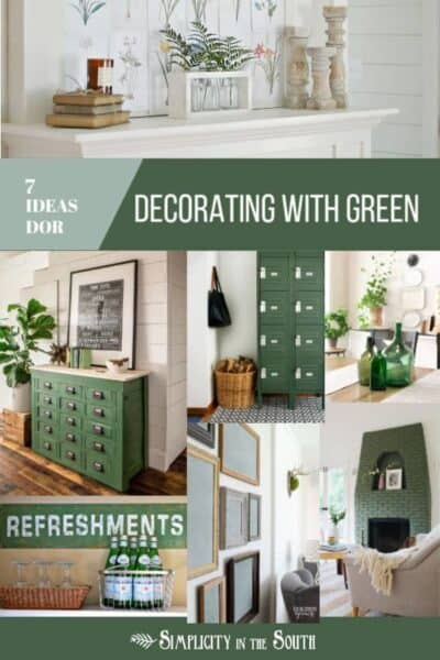 Simple Ideas for Decorating with the Color Green
