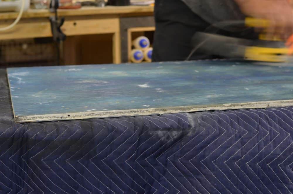DIY magnetic memo board