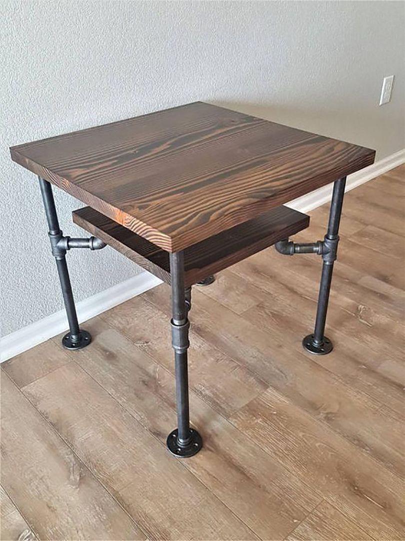 39 diy end table ideas built with