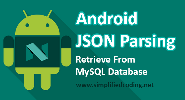 JSON Parsing in Android – Fetching From MySQL Database