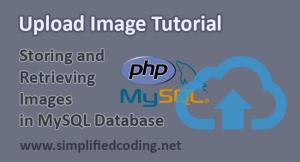 upload image php mysql