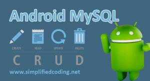 android mysql tutorial