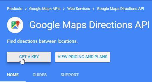 google maps direction api