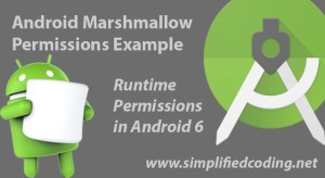 android marshmallow permissions example