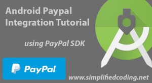android paypal integration tutorial