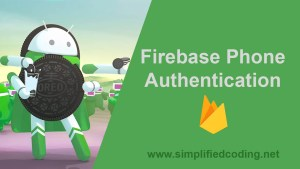 firebase phone authentication