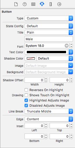 Xcode Radio Button Example - Creating Radio Button using Swift