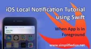 ios local notification tutorial