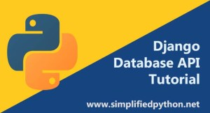 Django Database API – Saving Data in SQLite using Models
