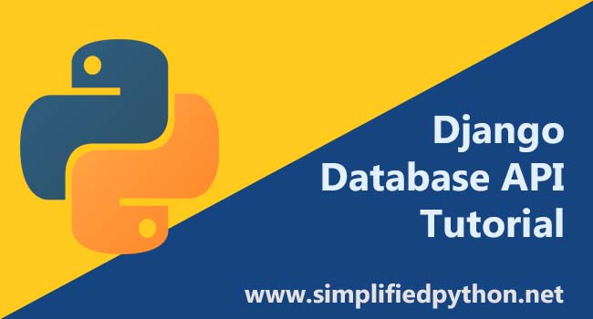 Django Database API - Saving Data in SQLite using Models