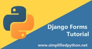 django forms tutorial