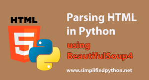 parsing html in python