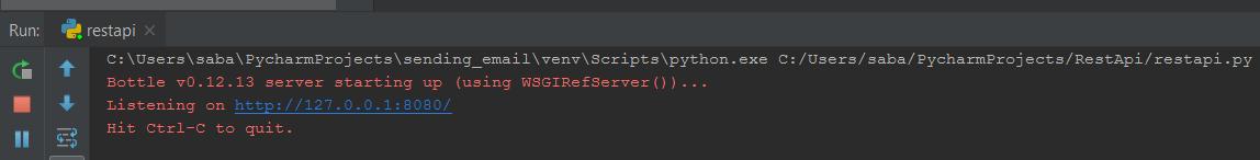 python rest api example