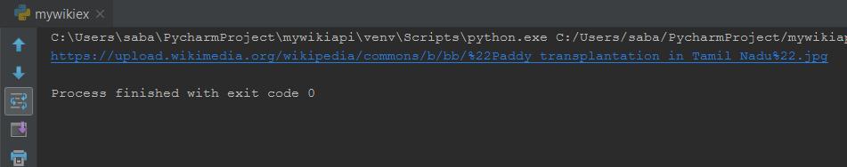 Wikipedia API Python