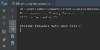 Python Binary To Decimal