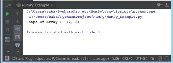 Python NumPy Operations