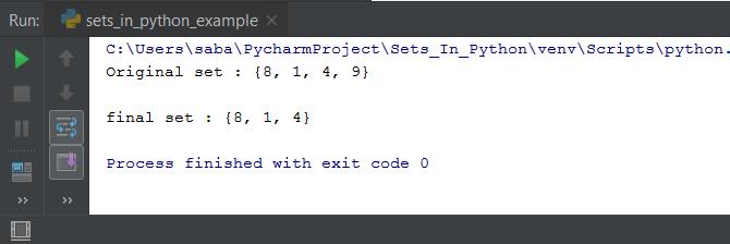 Sets In Python