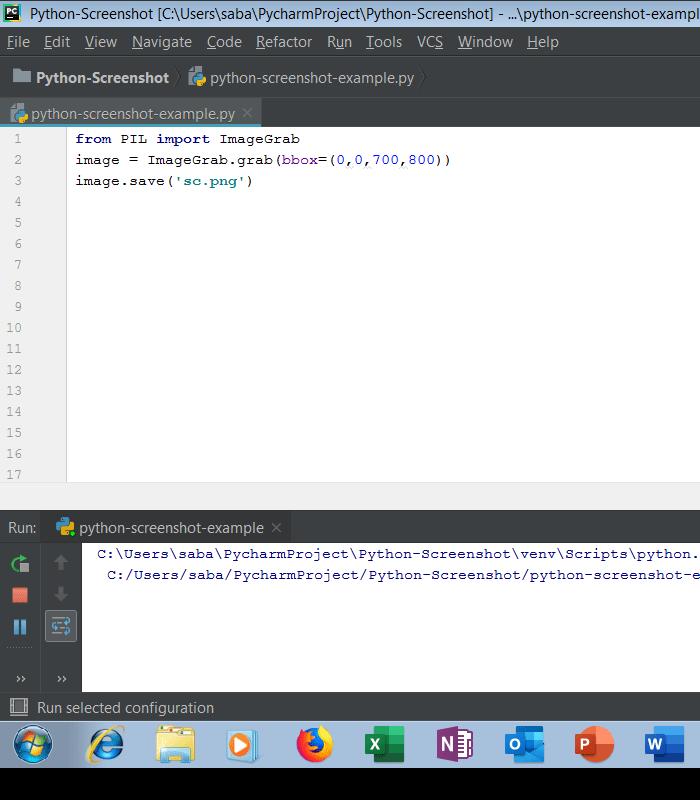 Python Screenshot Tutorial - How To Take Screenshot Using Python