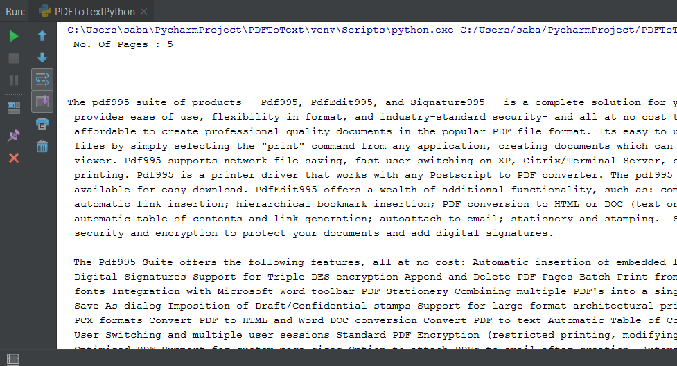 PDF To Text Python - Extract Text From PDF Documents Using