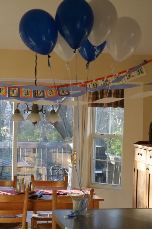Frugal Photo Friday Birthday Party Decorations