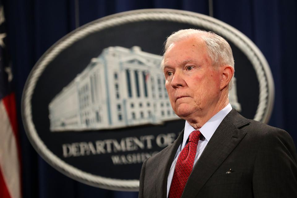 Attorney General Jeff Sessions rescinds Cole Memo