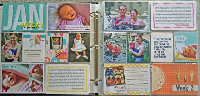 Project Life Scrapbooking - Record Your Family Memories