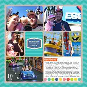 project life digital layout