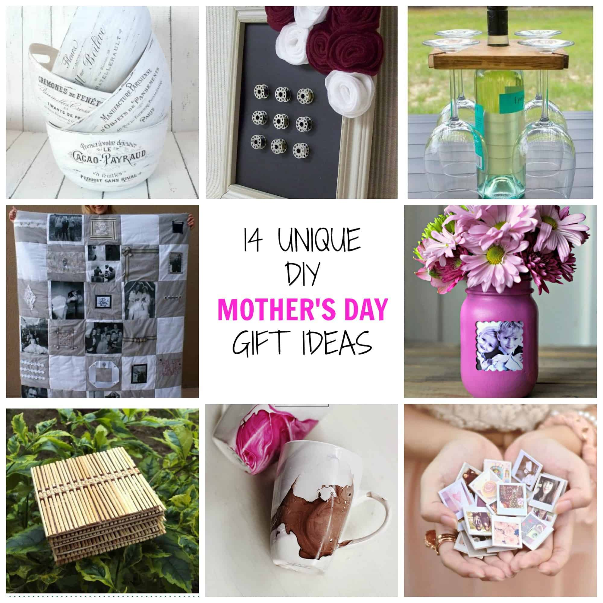 14 Unique DIY Mother's Day Gifts