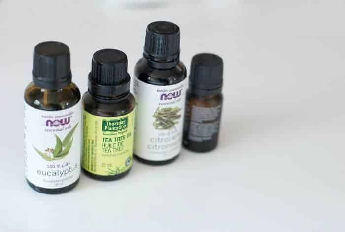 Natural cleaning products - essential oils