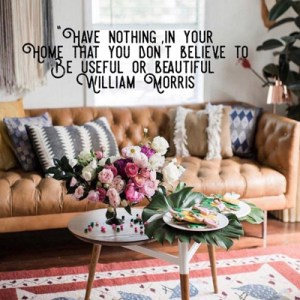 William Morris quote - William-Morris-quote
