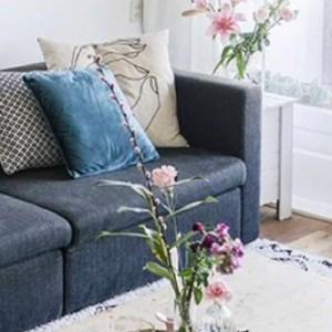 blue sofa  - blue-sofa-