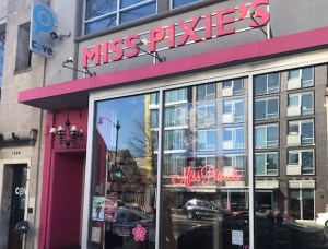 miss pixies store front