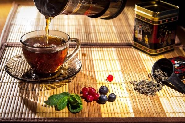 White Tea and Berries