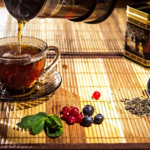 White Tea and Berries