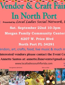 Vendor & Craft Fair in North Port