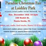 Paradise Christmas Fair at Laishley Park