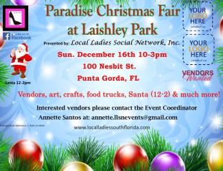 Paradise Christmas Fair