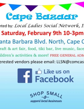 Cape Bazaar- Vendor Craft & Art Fair
