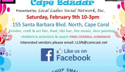 Cape Bazaar- Vendor Craft & Art Fair
