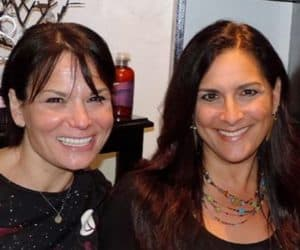 Roberta Perry on right