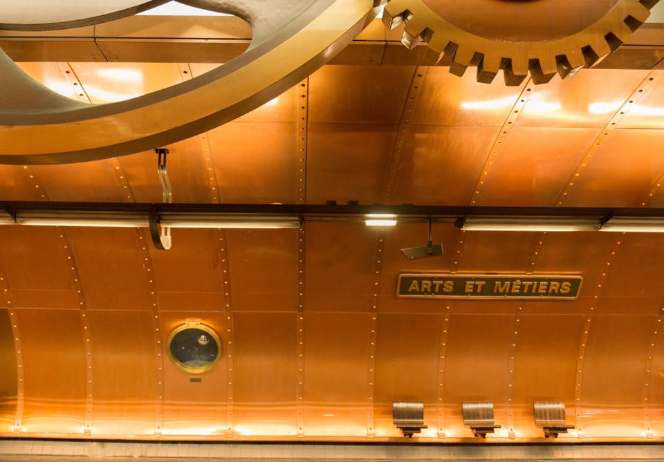 Paris Metro Arts et Metiers