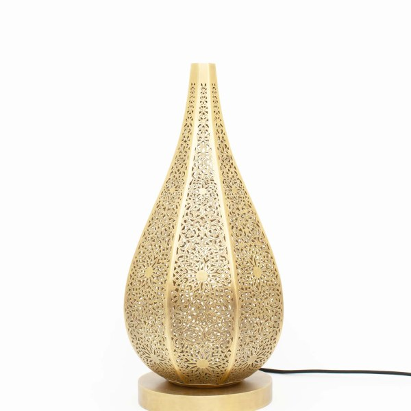 Gorgeous engraved Brass Table Lamp