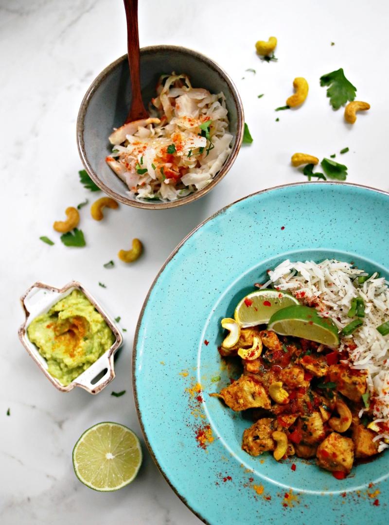 Pileći curry sa rižom