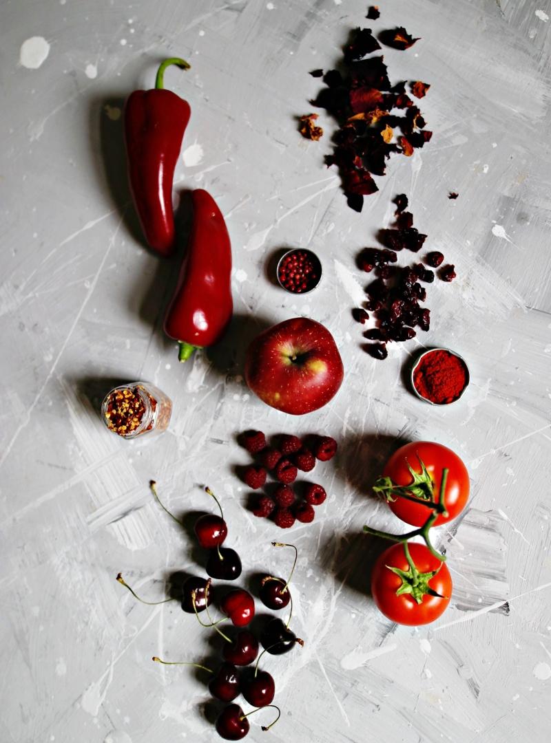 Jedimo u bojama [ CRVENA ]