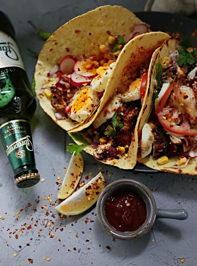 Pikantna pivska marinada + najbolji pileći tacosi