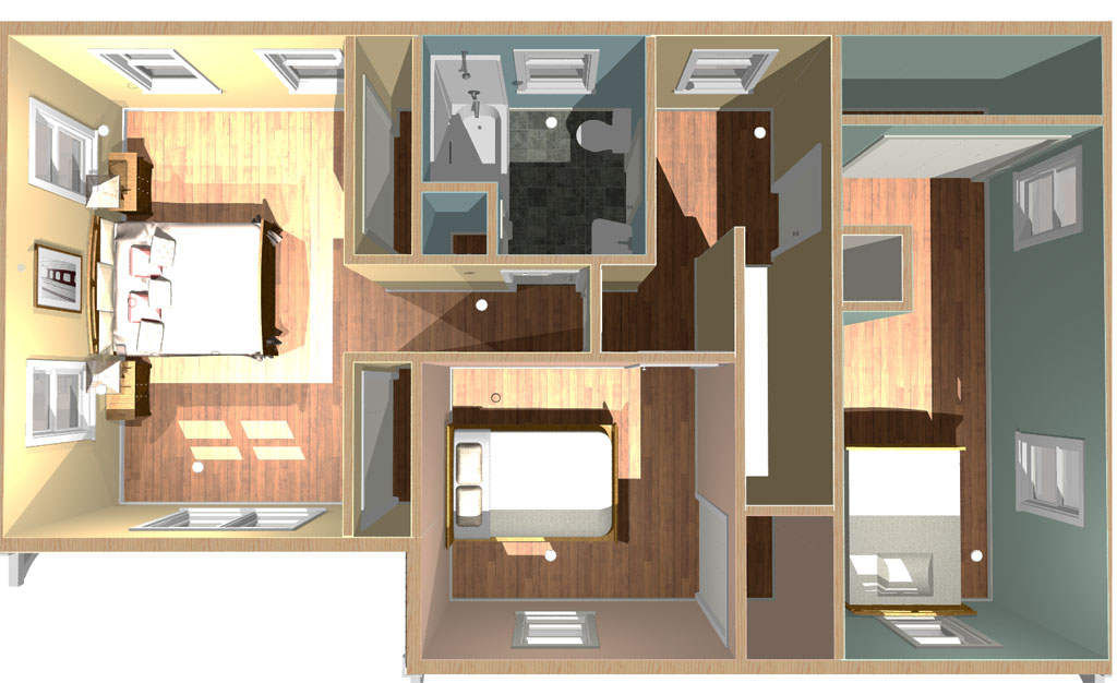 Two Bedroom Two Bathroom Additions